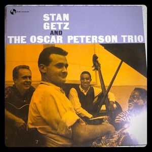 Stan Getz and the Oscar Peterson Trio LP